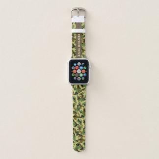 Woodland Camouflage Apple Watch Band