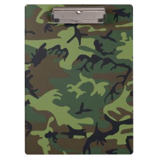 Woodland Camouflage II Clipboards