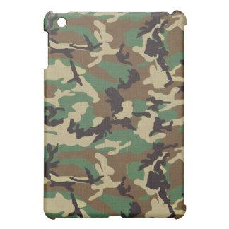 Woodland Camouflage iPad Mini Case