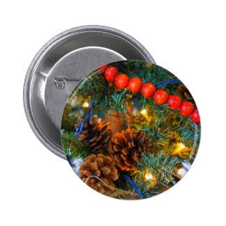 Woodland Christmas Pin