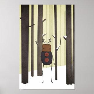 Woodland Creature Print