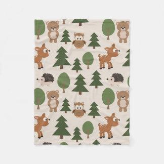 Woodland Creatures Blanket
