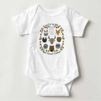 Woodland Critters-Best Forest Friends Baby Bodysuit