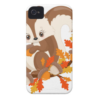 WOODLAND CRITTERS- squirrel iPhone 4 Cases