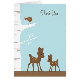Woodland Deer Note Cards