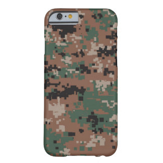 Woodland Digital Camo Barely There iPhone 6 Case