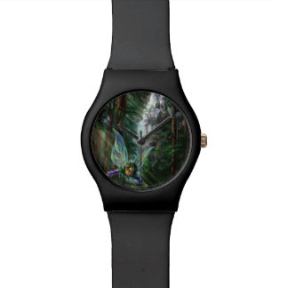 Woodland Fairies and Waterfall Castle Watch