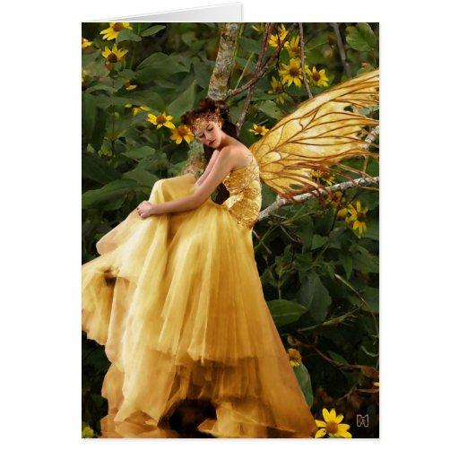 Woodland Fairy Card