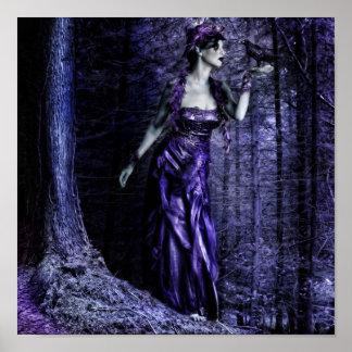 Woodland Fay Print