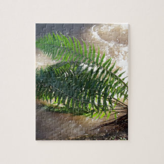 Woodland Fern And Flood Puzzle
