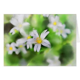 WOODLAND FLOWERS CARD