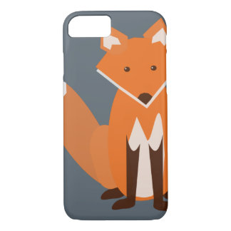Woodland Fox iPhone 7 Case
