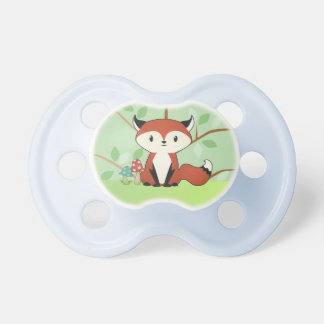 Woodland Fox Kit Baby Pacifier