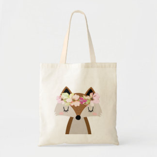 Woodland Fox tote bag