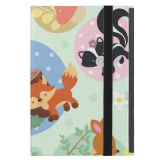 Woodland Friends iPad Mini Case With No Kickstand