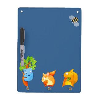 Woodland Fun blue Dry Erase Board