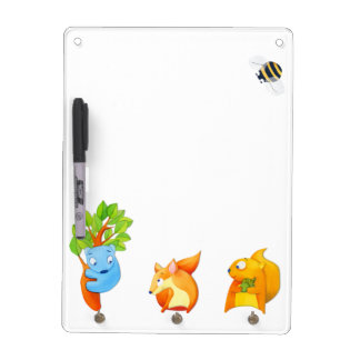 Woodland Fun Dry Erase Board