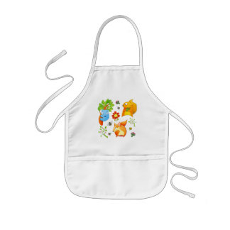 Woodland Fun Kids Apron