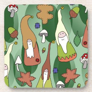 Woodland Gnomes Coaster