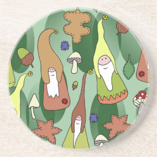 Woodland Gnomes Coaster