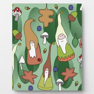 Woodland Gnomes Plaque