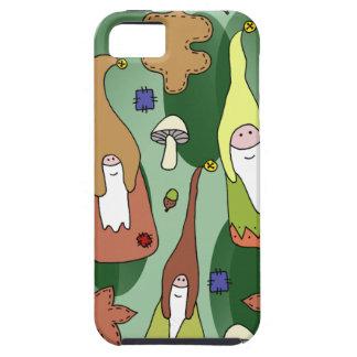 Woodland Gnomes Tough iPhone 5 Case