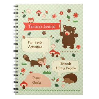 Woodland Journal Notebbok