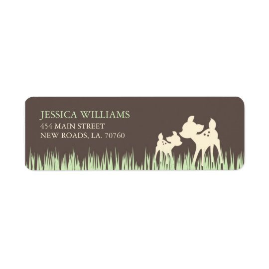 Woodland Mailing Labels