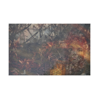 Woodland Nymph Canvas Print
