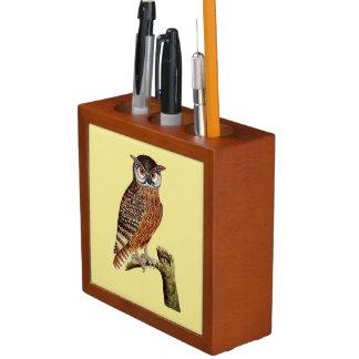 Woodland Owls Pencil Holder