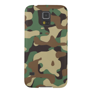 Woodland Pattern Camo Galaxy S5 Case