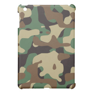 Woodland Pattern Camo iPad Mini Case