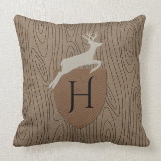 Woodland Rhapsody Monogram Cushion