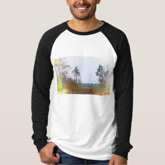 Woodland scene raglan T-Shirt