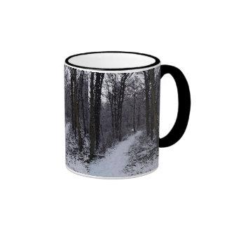 Woodland Snow Scene Mugs