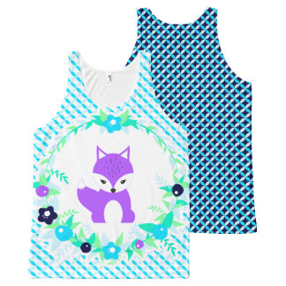 Woodland Story All-Over Print Singlet