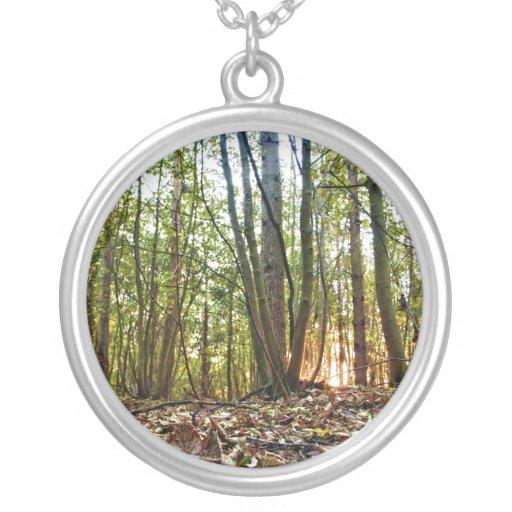 Woodland Sunset necklace