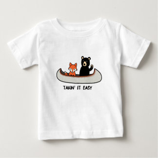 Woodland T-Shirt, Takin it Easy Baby T-Shirt