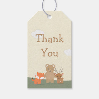 "Woodland ""Thank You"" Gift Tags"