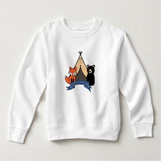 Woodland Toddler Fleece Sweatshirt