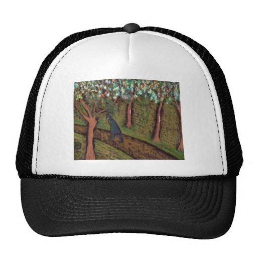 woodland walk digitally altered trucker hat