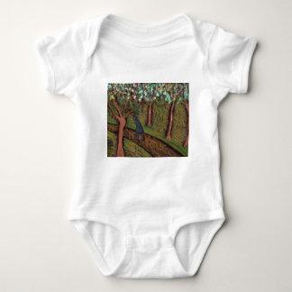 woodland walk digitally altered t-shirt