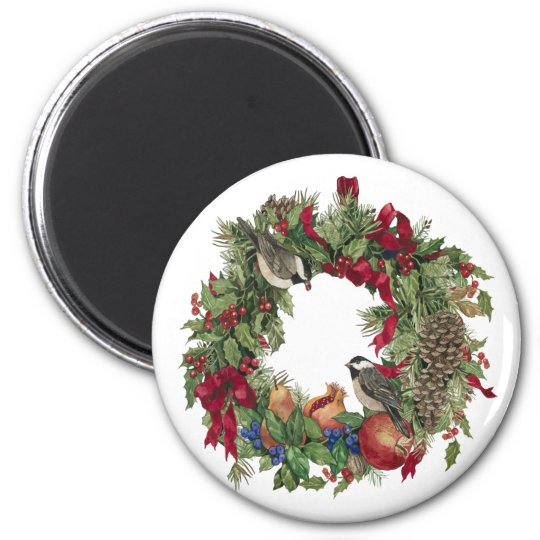 Woodland Wreath Magnet