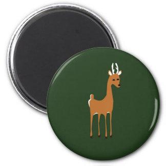 Woodlands deer magnet