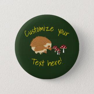 Woodlands Hedgehog Forest button