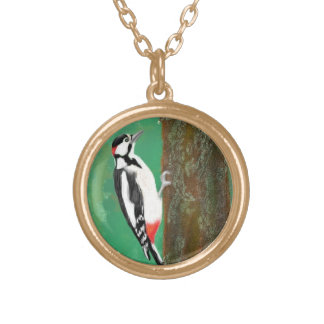 Woodpecker Pendant