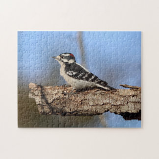 Woodpecker, Photo Puzzle. Jigsaw Puzzle
