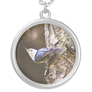 Woodpecker Tree Necklace