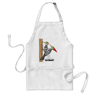 woodpeckers boinking, woodpeckers mating standard apron