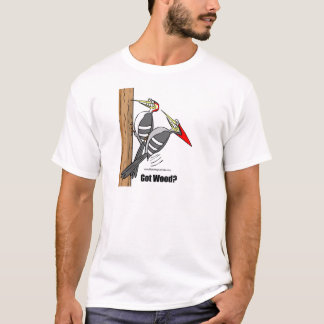 woodpeckers boinking, woodpeckers mating T-Shirt